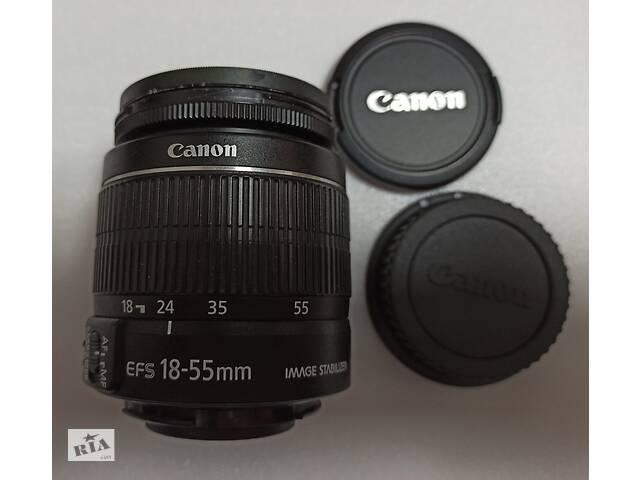 Об'єктив Canon EF-S 18-55mm 1: 3.5-5.6 IS II друге покоління- объявление о продаже  в Києві