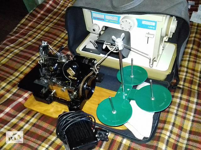 Оверлок швейная машинка (БЕСПЛАТНАЯ ДОСТАВКА по УКРАИНЕ)- объявление о продаже  в Киеве