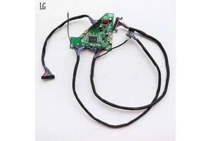 Плата LVDS 120Гц. PL. MS6M30K. с кабелем для LG/samsung