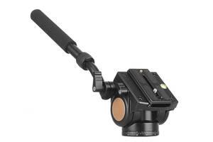 Професійна штативна відеоголова QZSD Q90S з демпфуючим ефектом
