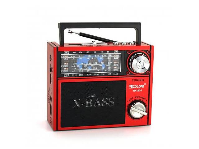 Радиоприемник колонка MP3 Golon RX-201 Red (gr_006954)- объявление о продаже  в Киеве