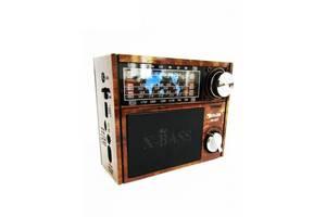 Радиоприемник колонка MP3 Golon RX-201 Wooden (gr_007096)