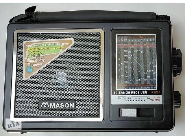 Радиоприемник Mason 891, состояние нового- объявление о продаже  в Новой Водолаге