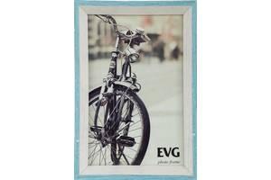 Рамка для фото Evg Deco 15х20 см, бело-голубой
