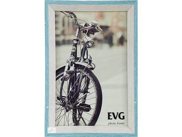 купить бу Рамка для фото Evg Deco 15х20 см, бело-голубой в Києві