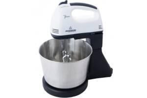 Стационарный электрический ручной миксер Crownberg кухонный миксер с насадками для замешивания крутого теста