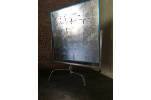 Серебряный алюминиевый отражатель + база C-Stand