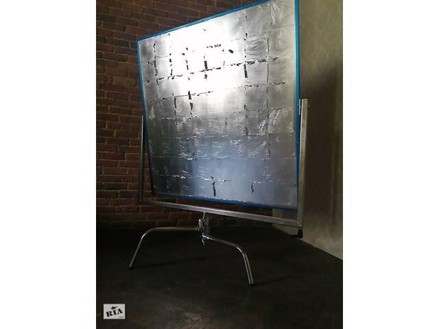 продам Срібний алюмінієвий відбивач + база C-Stand бу в Києві