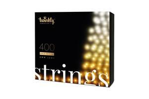 Smart LED Гирлянда Twinkly Strings AWW BT+WiFi кабель чёрный (32 м, 400 ламп)