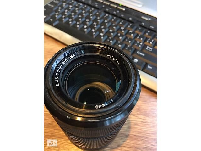 купить бу Sony 55-210 объектив в Кривом Роге