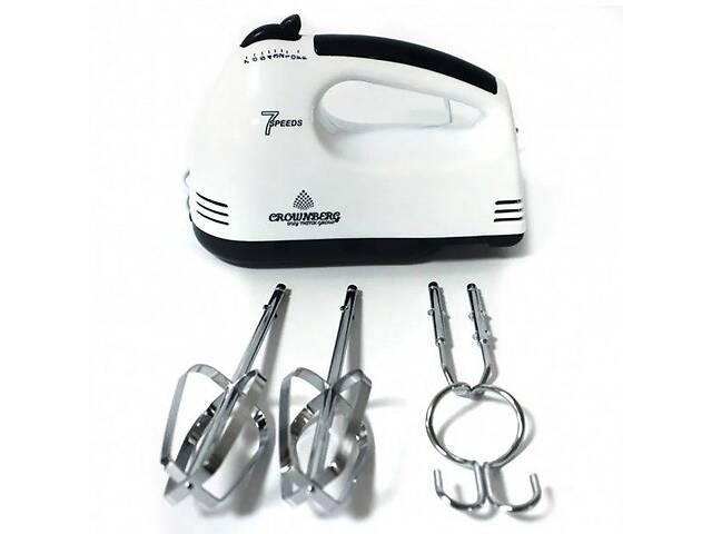 Стаціонарний електричний ручний міксер Crownberg - CB-7322 кухонний міксер з насадками для замішування тіста- объявление о продаже  в Харкові