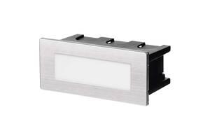 Светильник настенный лестничный Emos ZC0108 1.5 Вт, IP65 WW Серебристый