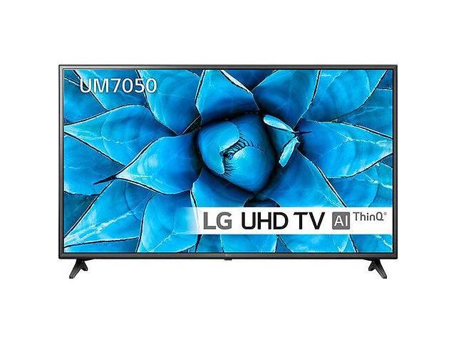 Телевизор LG 43UM7050PLF (PMI 1600Hz, 4K Active HDR, Ultra Surround, webOS, ThinQ AI, DVBT2/C/S2)- объявление о продаже  в Луцке