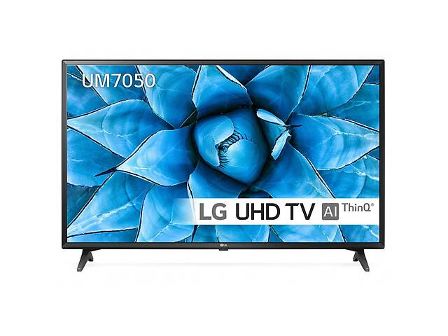 бу Телевизор LG 75UM7050PLA (PMI 1600Hz, 4K Active HDR, Ultra Surround, webOS 4.5, DVBT2/C/S2) в Луцке