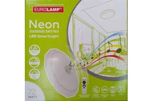 Кольоровий світильник світлодіодний Eurolamp 72 Вт музичний