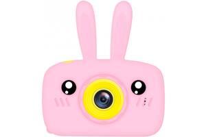 Цифровой детский фотоаппарат XoKo KVR-010 Rabbit Розовый (KVR-010-PN) (9869201149854)