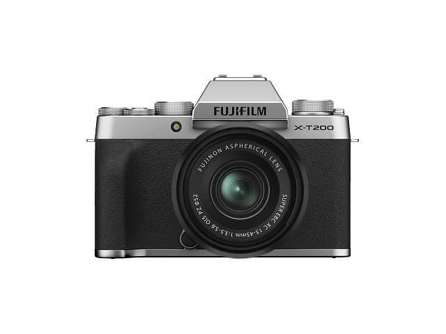 бу Цифровой фотоаппарат Fujifilm X-T200 + XC 15-45mm F3.5-5.6 Kit Silver (16647111) в Харькове