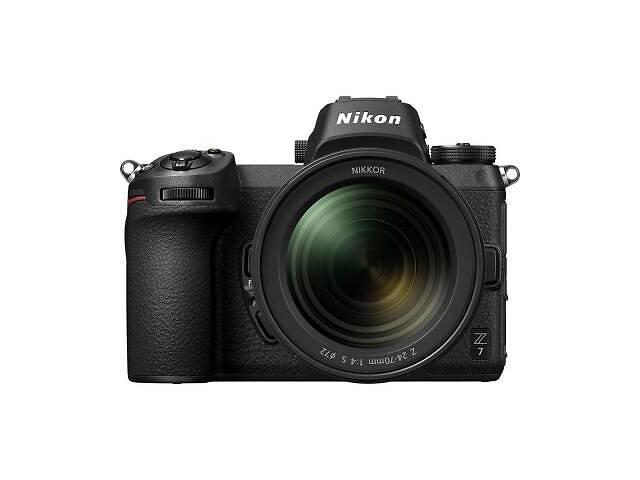 продам Цифровий фотоапарат Nikon Z 7 + 24-70 f4 + FTZ Adapter Kit (VOA010K003) бу в Харкові