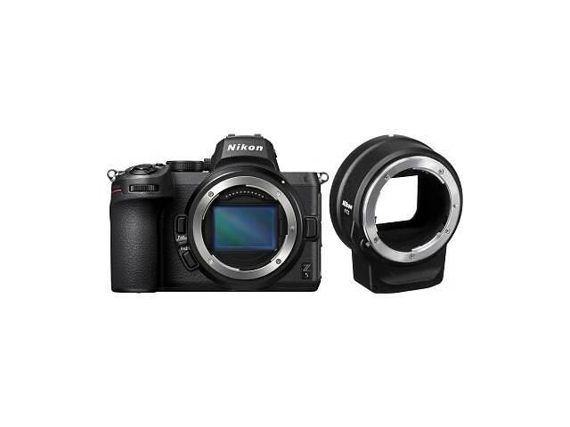 продам Цифровой фотоаппарат Nikon Z5 + FTZ Adapter Kit (VOA040K002) бу в Харкові