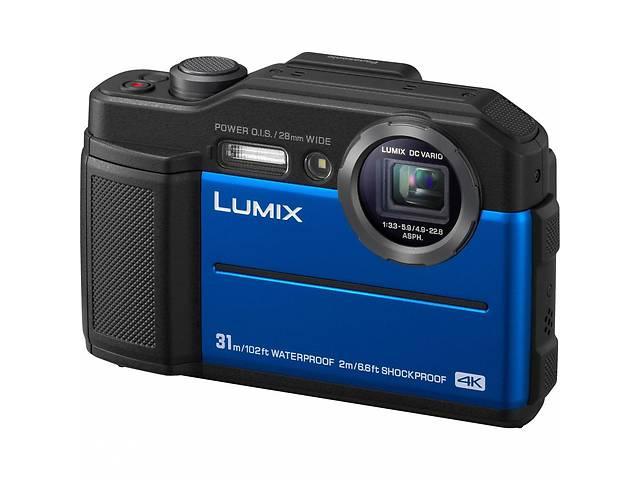 бу Цифровой фотоаппарат PANASONIC LUMIX DC-FT7EE-A Blue (DC-FT7EE-A) в Києві