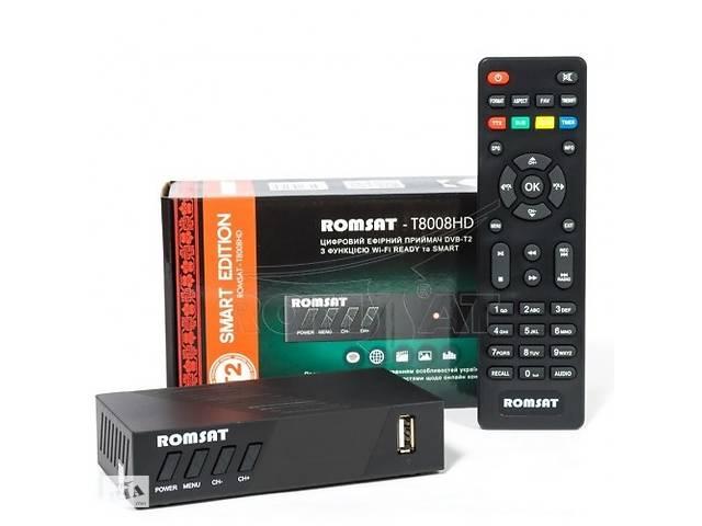 Тюнер DVB-T2 Romsat T8008HD (Код товара:10429)- объявление о продаже  в Харькове