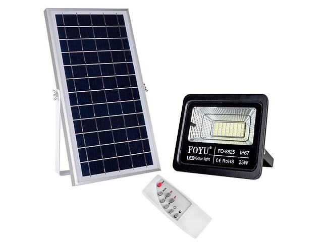 купить бу Уличный LED прожектор на солнечной батарее FOYU 25 Вт (FO-8825) в Киеве