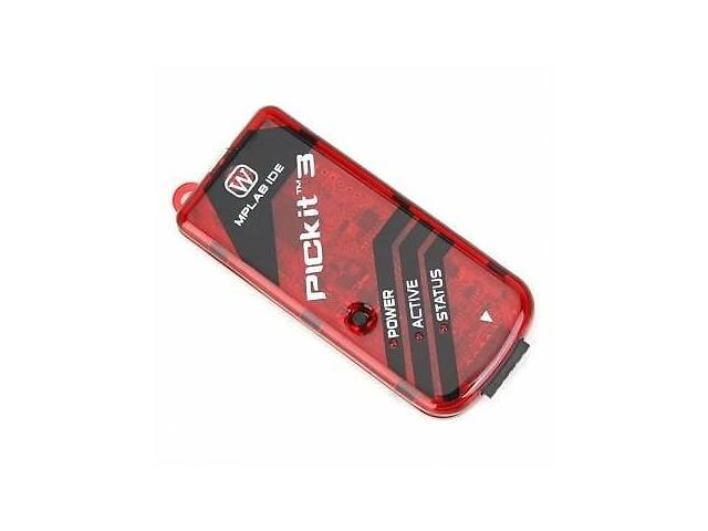 купить бу USB программатор PICkit 3 для PIC-контроллеров в Харькове