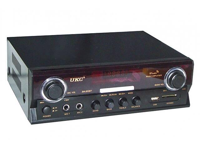 Усилитель звука UKC SN-302BT 7066 с караоке (gr_011570)- объявление о продаже  в Киеве
