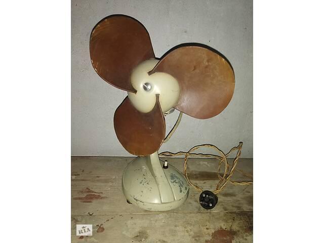Вентилятор настільний 1956 року- объявление о продаже  в Могилів-Подільському