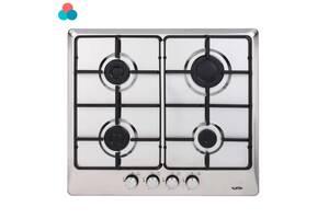 Встраиваемая варочная газовая поверхность Ventolux HG640 B2 S Х варочна газова поверхня вбудована кухонна техника плита