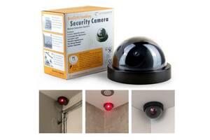 Видеокамера,камера слежения - обманка, круглая муляж .Новая
