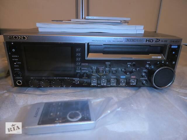 купить бу Видеорекордер XDCAM HD Sony PDW-F75  в Украине