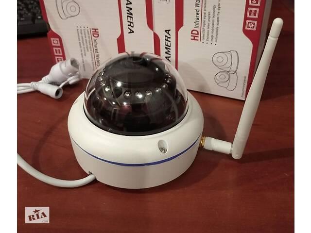 продам WiFi IP camera 2.0Mp 1920*1080 / 5.0Mp UHD 2592*1944, купольная камера бу в Богуславе