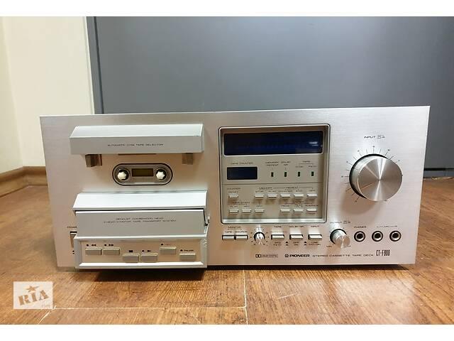 Японская кассетная дека Pioneer CT-F900- объявление о продаже  в Виноградове