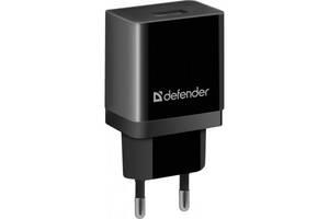 Зарядное устройство Defender UPA-11 black, 1xUSB, 5V / 1A (83547)