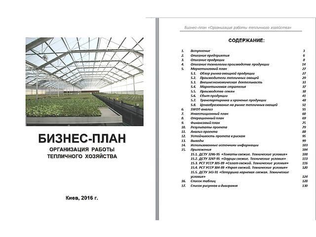 Бизнес-план, технико-экономическое обоснование (ТЭО) для аграриев, фермеров, агрофирм и инвест-компа- объявление о продаже  в Киеве