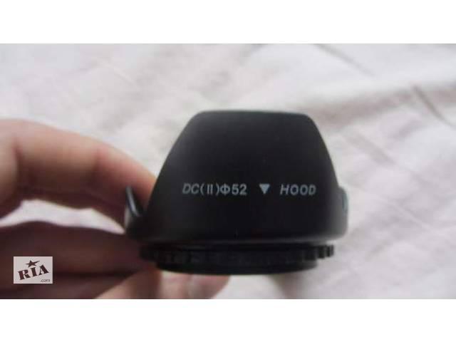продам Бленда 52 мм к фотоаппаратам NIKON D3200 D5200 D5300 D3300 бу в Львові