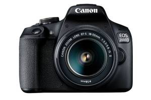 Фотоаппарат CANON EOS 2000D 18-55 IS II + сумка SB130 + карта памяти SD16GB (2728C015)