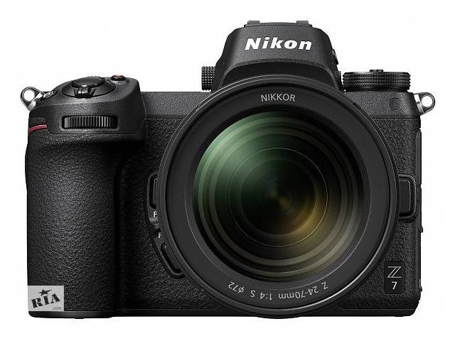 продам Фотоаппарат NIKON Z7 + 24-70 F4.0 (VOA010K001) бу в Киеве