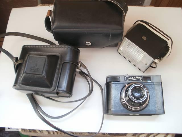 купить бу Фотоаппарат с вспышкой Смена 6 в Киеве