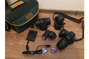б/у Зеркальные фотоаппараты Sony DSLR A380 Double Kit (18-55 + 55-200)