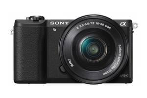 Фотоаппарат Sony Alpha A5100 kit (16-50mm) Black