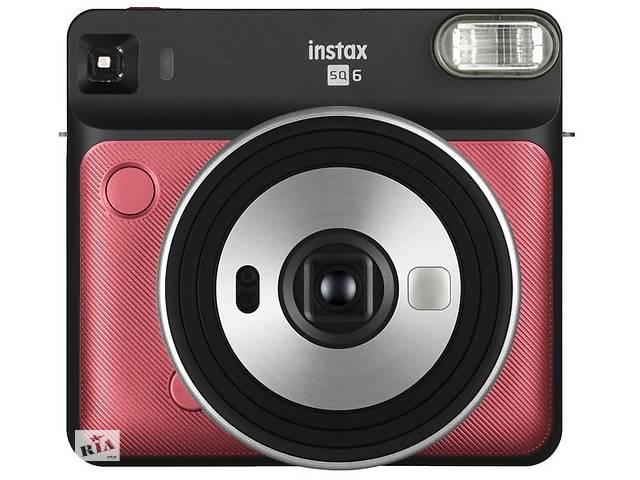 бу Фотокамера моментальной печати Fujifilm INSTAX SQ 6 Ruby Red (16608684) в Киеве
