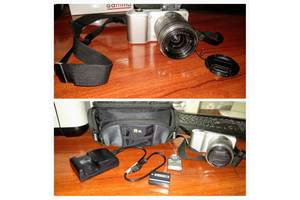б/в Цифрові фотоапарати Sony NEX-3K 18-55mm Black