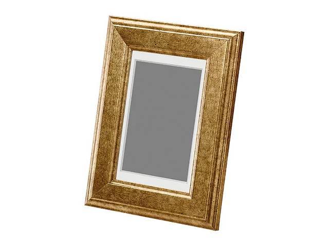 продам Рамка IKEA VIRSERUM 10х15 см Бело-золотой (603.785.08) бу в Києві