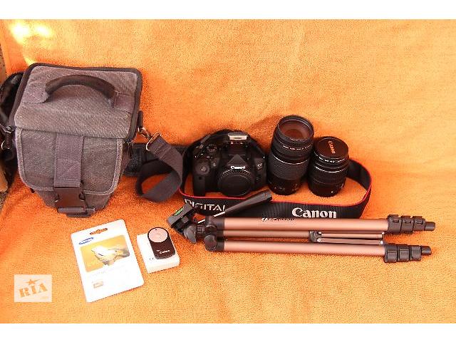 продам Canon 700D+2 обектива есть и 100-600-650-750d бу в Каменец-Подольском