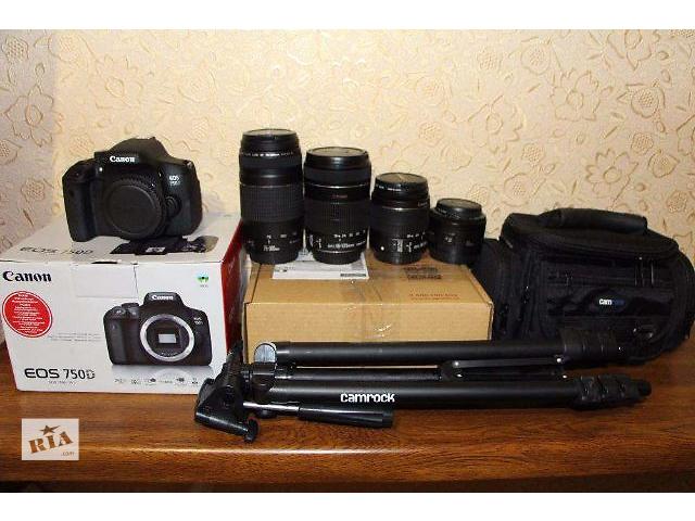 бу Canon 750d есть и 600-650-700-100d в Каменец-Подольском