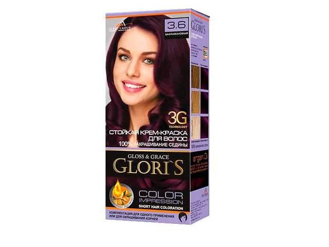 Фарба для волосся 3.6 (Баклажановий) ТМGLORIS