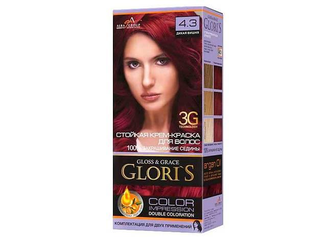 Фарба для волосся 4.3 (Дика вишня) ТМGLORIS