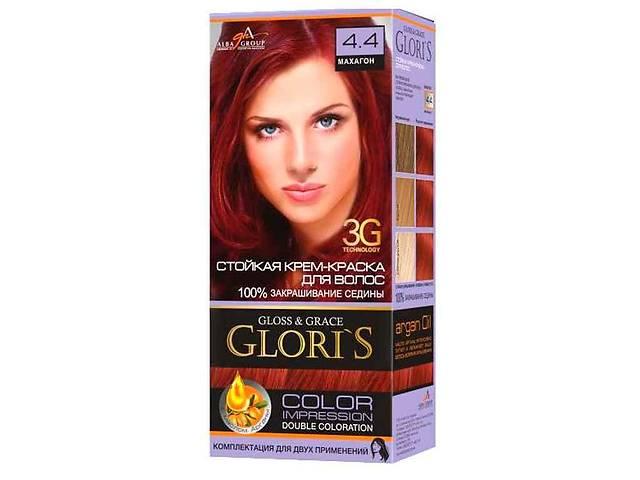 Фарба для волосся 4.4 (Махагон) ТМGLORIS